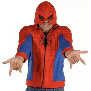 Spider-Man Hoodie Mens NEW in Packaged! Sizes S/M